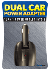 Model: 15951  Dual Car Power Adapter