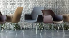 Modern guest seating