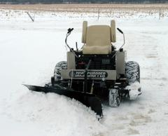 TRAC VAC Front Mount Snow Blade