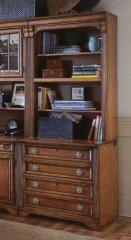 Brookhaven Bookcase w/Lateral File Base by Hooker