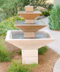 Oblique Series Fountain