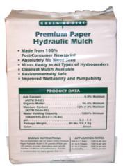 Green Choice Premium Paper Hydraulic Mulch