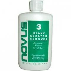 Novus #3 Heavy Scratch Remover 8oz