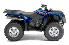 2013 Yamaha Grizzly 450 Auto. 4x4 EPS - Steel Blue