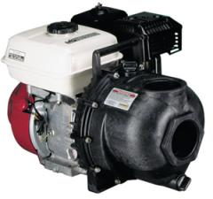 "3"" Poly Pump W/ 6.5 HP Honda Gas Eng."