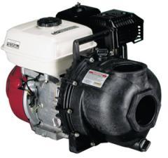 "3"" Poly Pump W/ 6.5 HP Honda Gas Eng."
