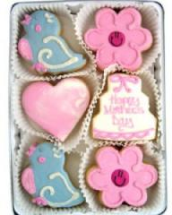 Mother's Day Birds Cookie