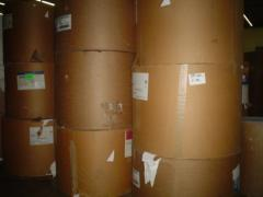 Stock Lot of Paper Rolls, Waste Paper