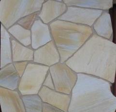 Golden Beaches random flagstone quartzite
