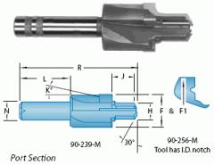 Metric Straight Thread O-Ring Port ISO