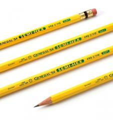General's Semi-Hex Graphite Pencil - 12pk