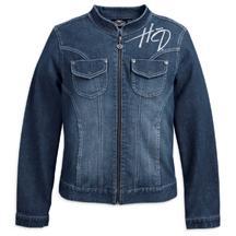 Women's Embellished Denim Jacket