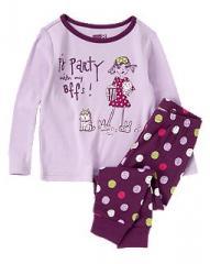 PJ Party Two-Piece Pajama Set