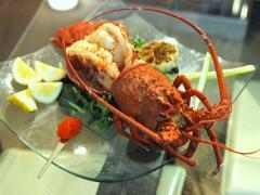 Frozen Split California Spiny Lobster/piece