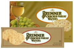 Cracked Wheat Wafers Crackers