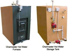 The Charmaster Wood-Only Hot Water Furnace