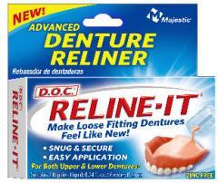 Reline It dental reliner