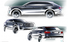 Bentley EXP 9 F Design Concept