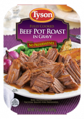 Tyson® Beef Pot Roast in Gravy
