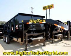 Big Tex Tandem Axle Low Profile Dump Trailer