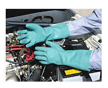 Ansell Sol-Vex® Unlined Nitrile Gloves