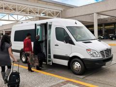 2012 Sprinter Airport Shuttle Truck