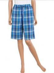 Seersucker Plaid Shorts