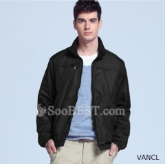 Men's Simple Four Pockets Casual Jacket