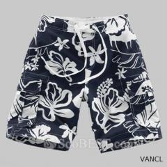 Side Pocket Floral Casual Short