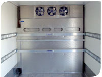 Traditional cold plate refrigeration