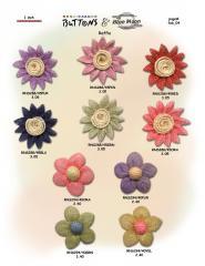 Raffia Buttons