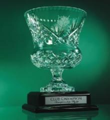 Trophy Cup Crystal Vase
