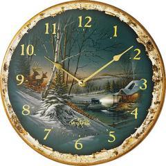 Terry Redlin Clocks