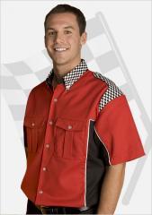 Thunder Bullets Checkered Shirt