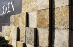 Dimension cut patio squares