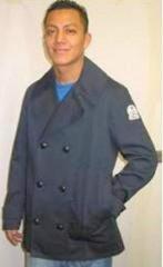 Chino Twill pea coat