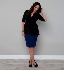 Priscilla Knit Pencil Skirt