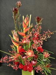 Tropical Vase Arrangement t-1408