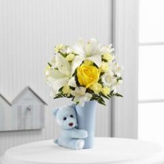The FTD Baby Boy Big Hug Bouquet