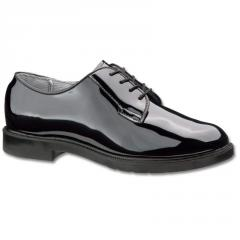 Men's High Gloss Black Oxford Dress Shoe