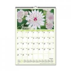 Visual Organizer Flower Garden Monthly Wall