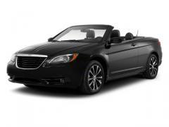 Chrysler 200 Limited Convertible Car