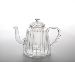 31 ounce Insulated Oblong Ribbed Teapot