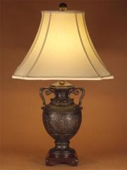 Bronzed Urn Lamp
