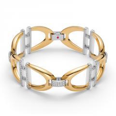 Roberto Coin® Cheval collection diamond bracelet