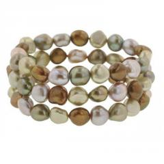 Honora® Rainforest cultured pearl bracelets