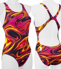Women's One Piece Print Swimsuit