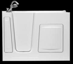 WT5130L or WT5130R Walk-in Hydrotherapy Bathtub
