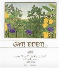 Gan Eden 1996 Cuvee Les Trois Canards Wine
