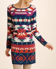 Neely Jacquard Sweater Dress